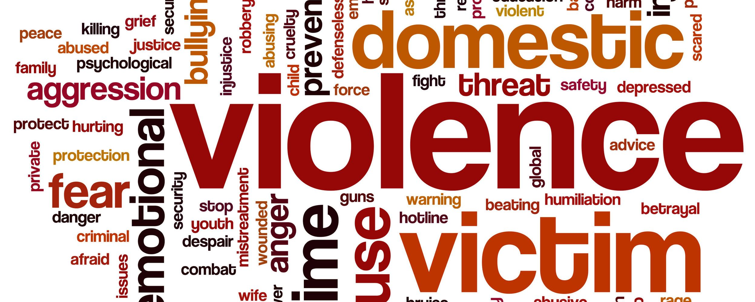 30216608 - violence concept word cloud background